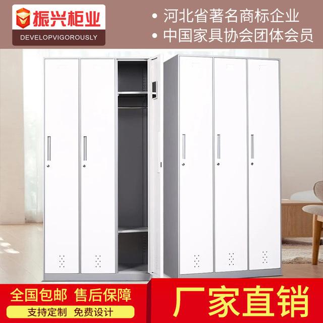 员工钢制更衣柜 双门三门四门六门铁皮更衣柜订制批发