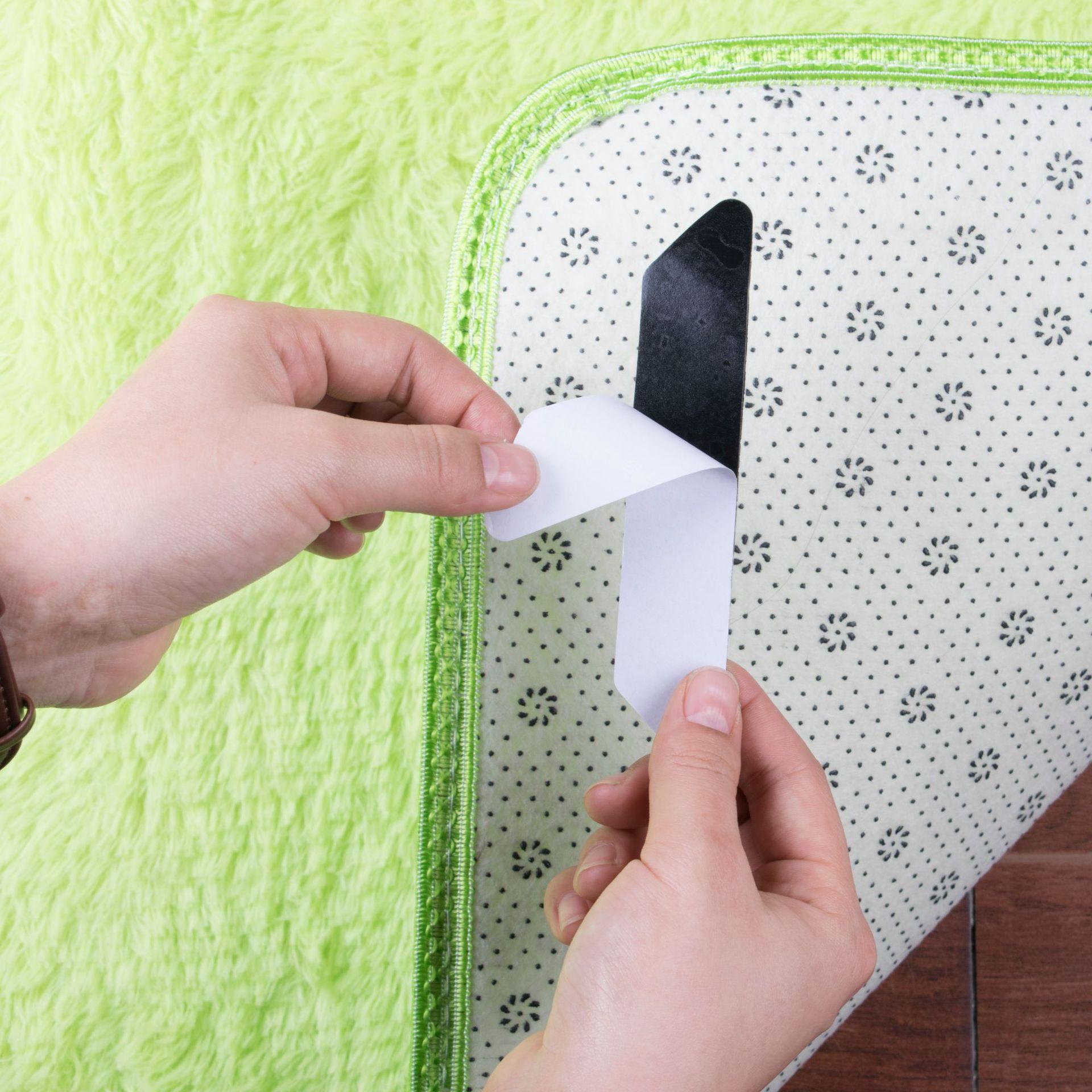 上墙粘贴相框、路由器、电源插排通通上墙 地毯 沙发防滑贴