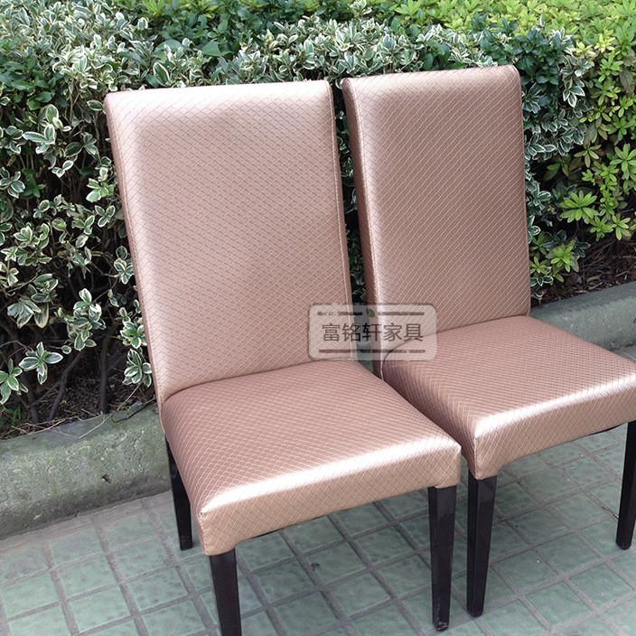 酒店实木家具座椅餐厅软包拉扣餐椅 家居休闲布艺单人沙发椅定制