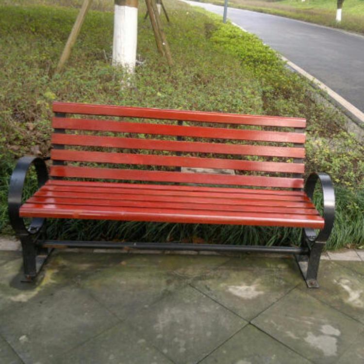实木休闲椅 兴康达 欢迎来电咨询采购  小区长凳 园林椅 休闲椅