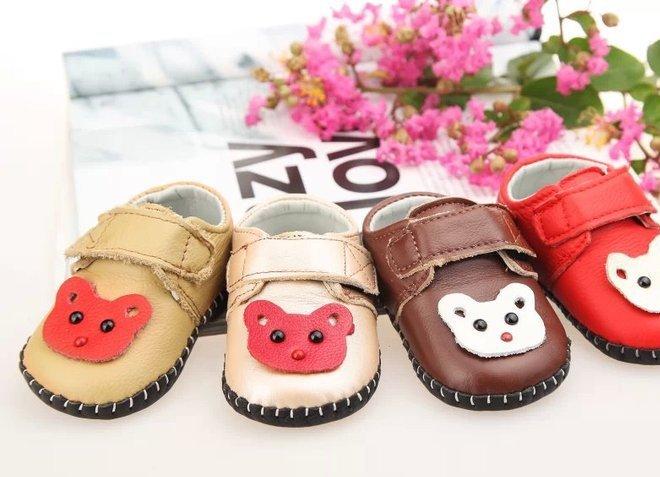 2016年春秋款儿童宝宝学步鞋真皮软底缝包婴儿鞋0-2岁 一件代发