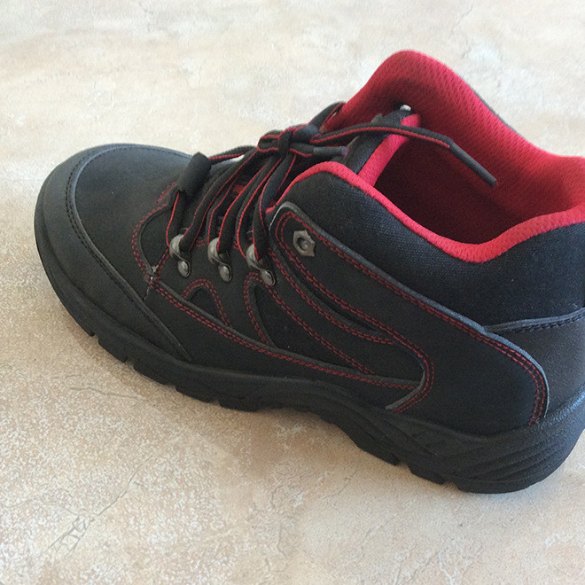厂家直销劳保安全鞋 防静电劳保鞋 反绒牛皮防静电高帮防护鞋
