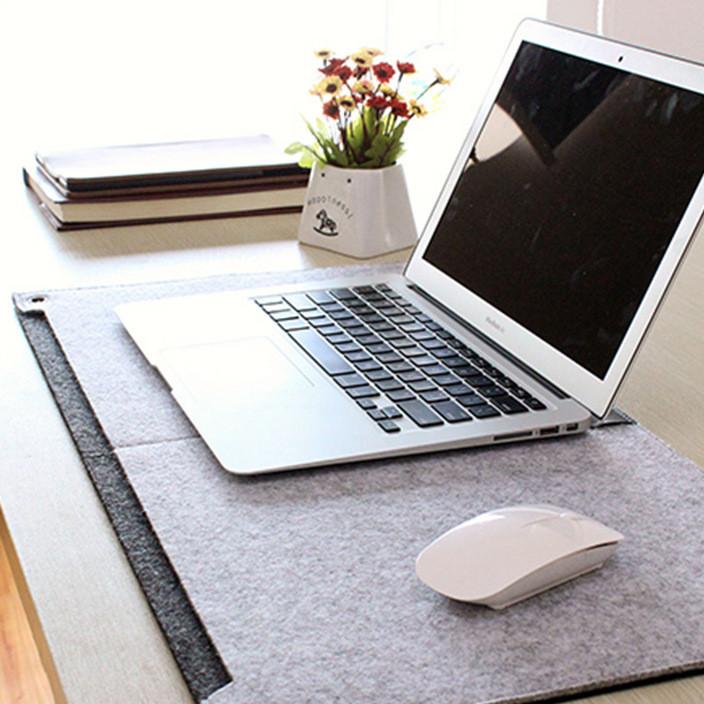 加大鼠标垫毛毡diy 多功能电脑鼠标垫键盘垫写字书桌垫冬季保暖