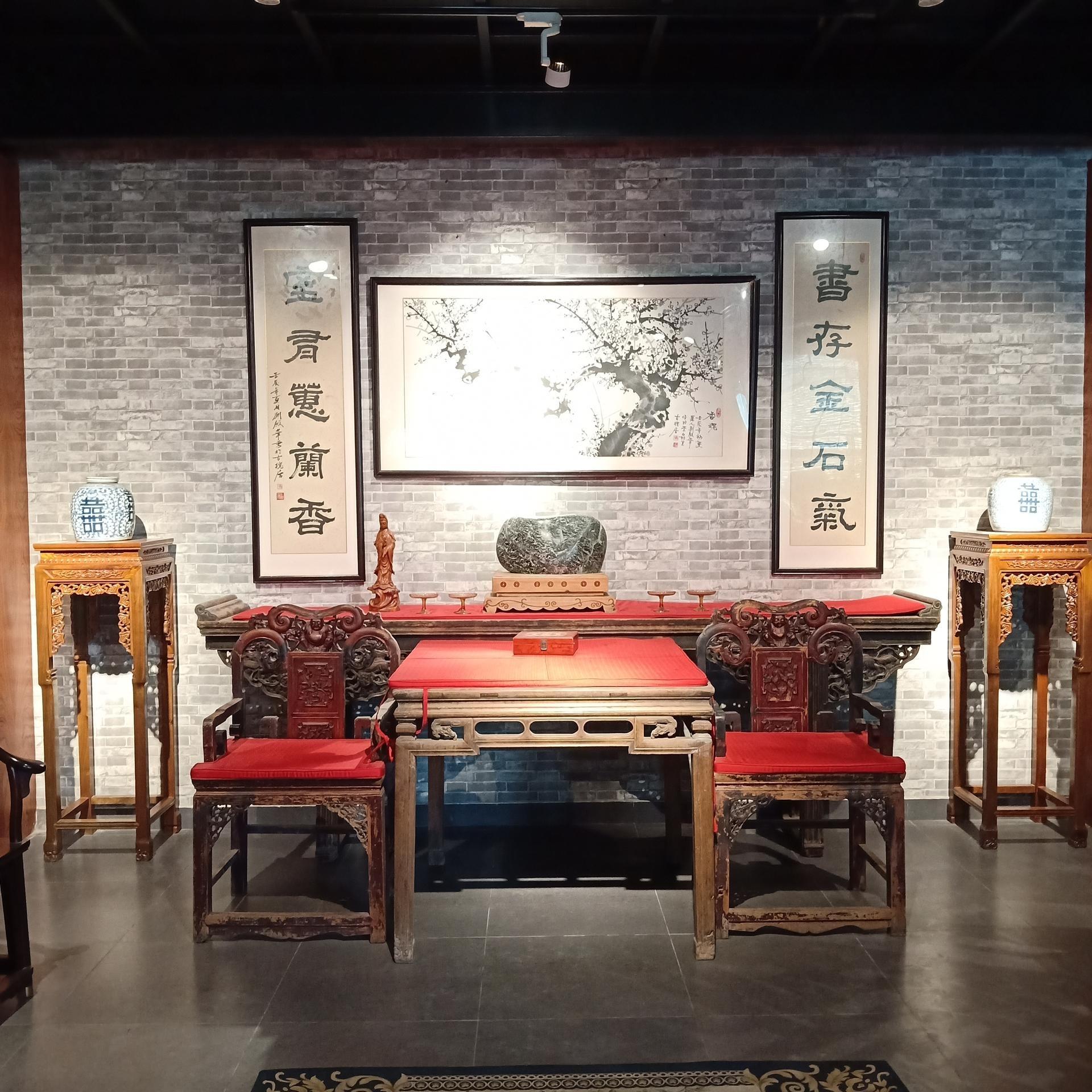 新都区森德强新中式禅意家具丨成都设计工作室专业定制提供明清中式家具丨布艺软体实木结合家具