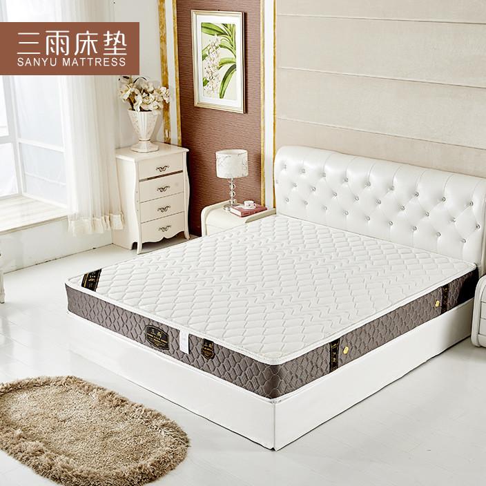 椰棕弹簧床垫软硬两用护脊床垫3E椰梦维棕席梦思弹簧床垫1.51.8米