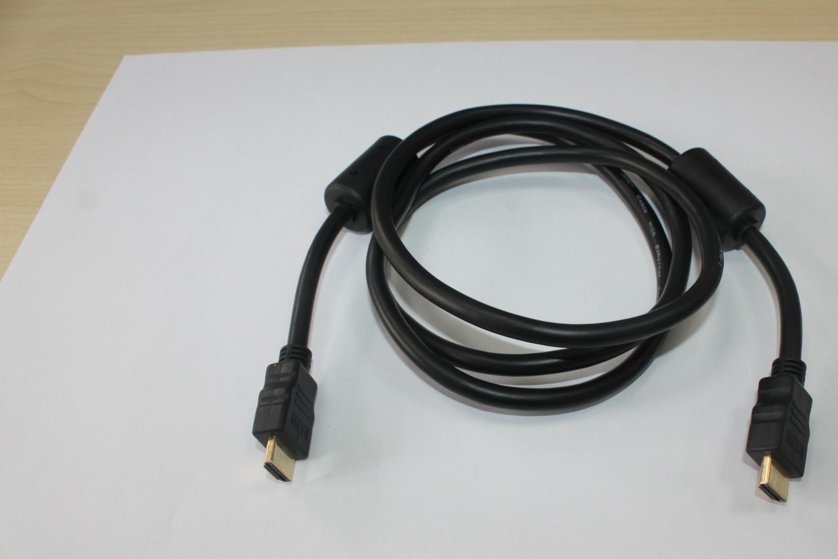 HDMI电脑线材 1.4版HDMI高清线显示器连接线 1.5米 hdmi线 机顶盒