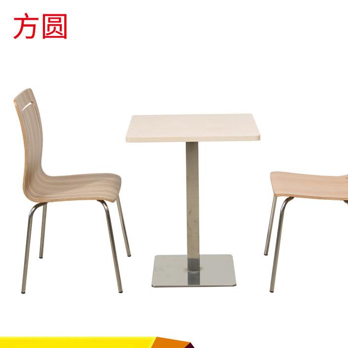 快餐厅餐桌椅组合 肯德基咖啡厅职工餐厅 可加工定制 工厂批发