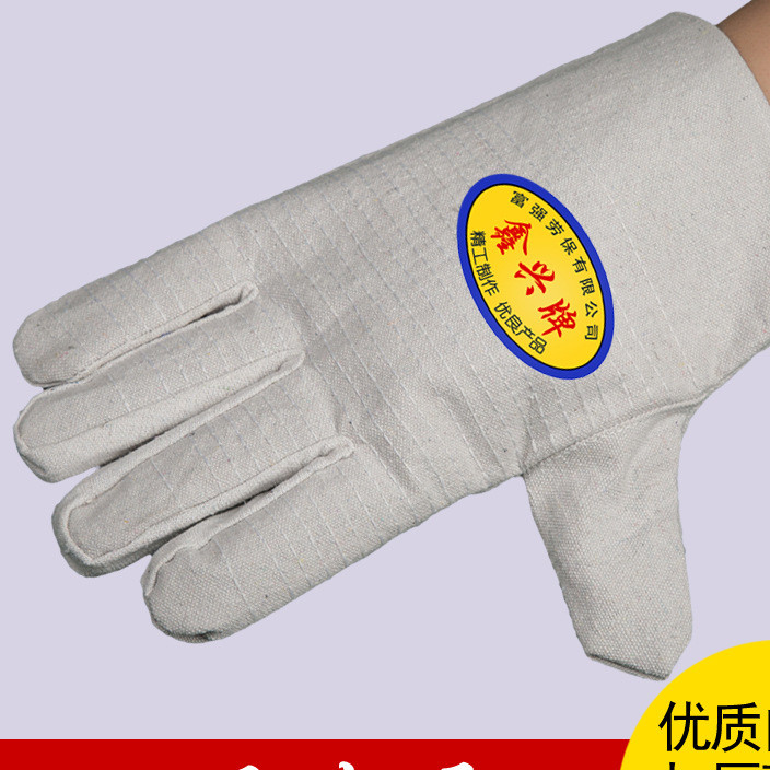 White mail canvas gloves 24 line canvas labor protection gloves labor protection products protective gloves electric welding gloves wholesale manufacturers