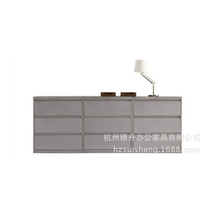 厂家直销  杭州穗升办公家具 气派老板油漆办公柜资料文件柜