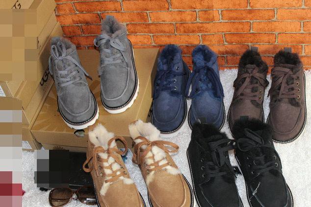 5788贝克汉姆雪地靴2019新款羊皮毛一体男雪地靴工厂现货直销批发