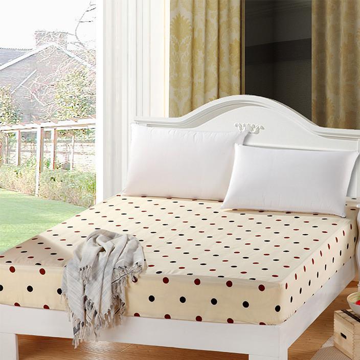 厂家直销批发价 席梦思床垫保护套防滑纯棉单件1.5 1.8米全棉床笠