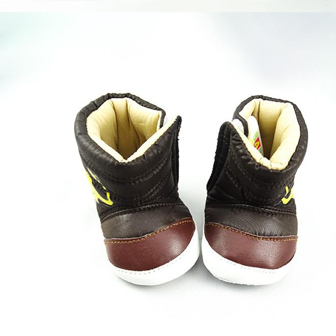 秋冬新款宝宝鞋 韩版中筒防水PU婴儿保暖鞋  雪地靴  婴儿鞋