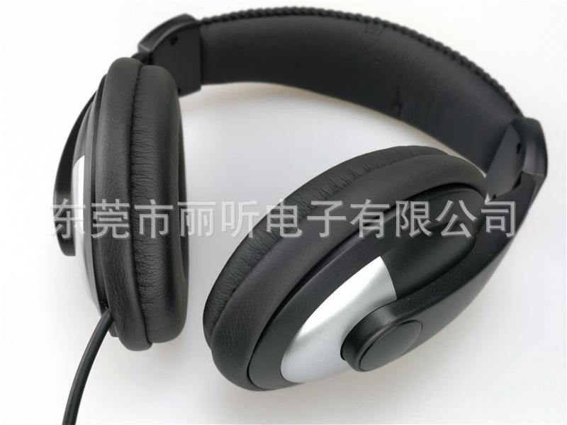 抗噪音头戴式大耳套检测测试专用音乐k歌线控手机MP3降噪音耳机