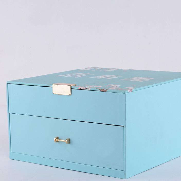 厂家定制款双层抽拉式精美礼品包装盒茶叶月饼、燕窝盒首饰包装盒