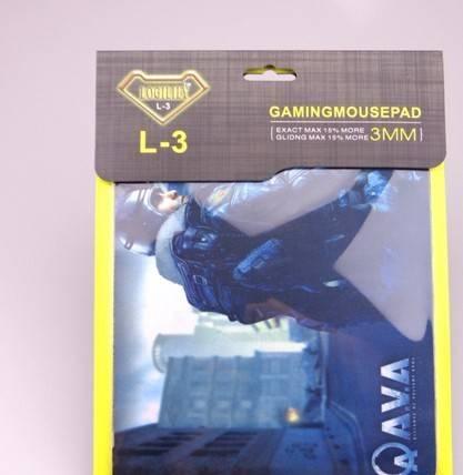 L-3鼠标垫 原装正品鼠标垫 吸塑盒鼠标垫 纸盒鼠标垫2002503mm