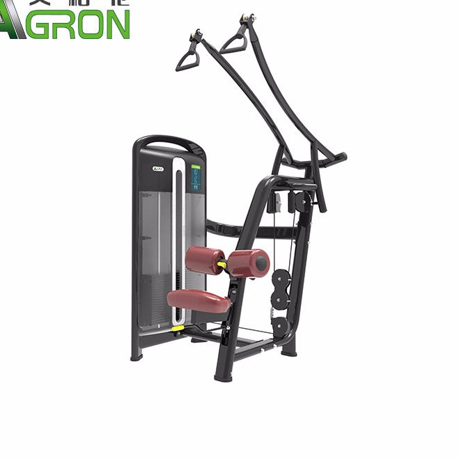 Fitness equipment strength apparatus indoor fitness equipment sit-down high back muscle trainer
