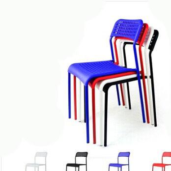 时尚现代塑料镂空椅 简约靠背椅子 休闲办公椅新款餐椅9031