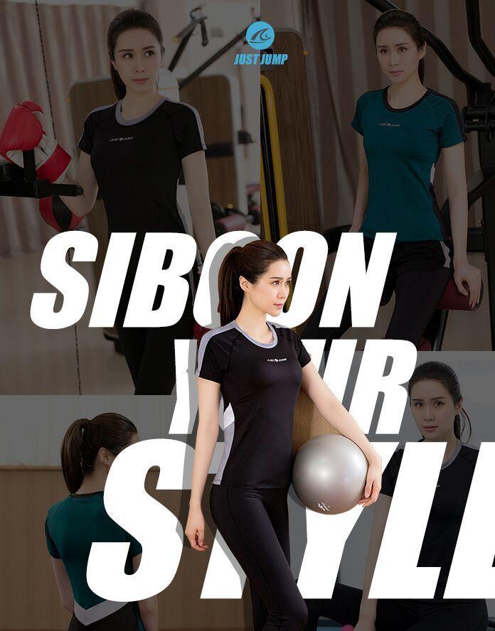 瑜伽运动套装女2019新款健身房跑步宽松速干衣专业性感健身服女潮