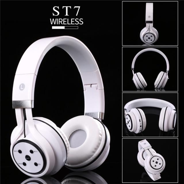 SOGT 头戴式蓝牙耳机 重低音耳机 无线插卡带收音机耳麦 语音通话 EQ功能耳机 耳机厂家