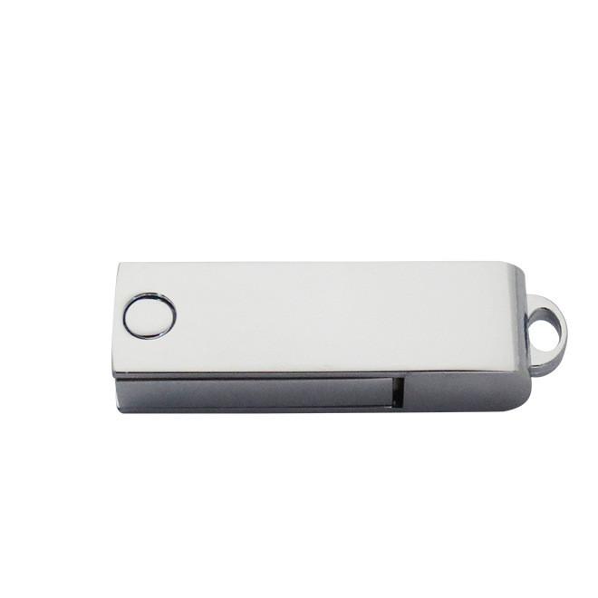 厂家直供 个性便携锌合金旋转279U盘 时尚金属U盘数码产品可定制
