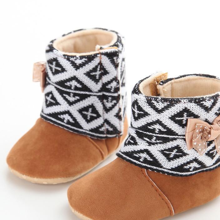 外贸学步鞋0-1岁女宝宝鞋冬季婴儿鞋