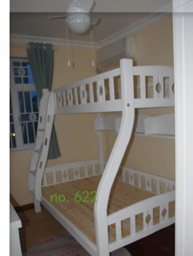 622 ash ash up and down bed double layer child mother bed child bed log furniture custom made solid wood furniture