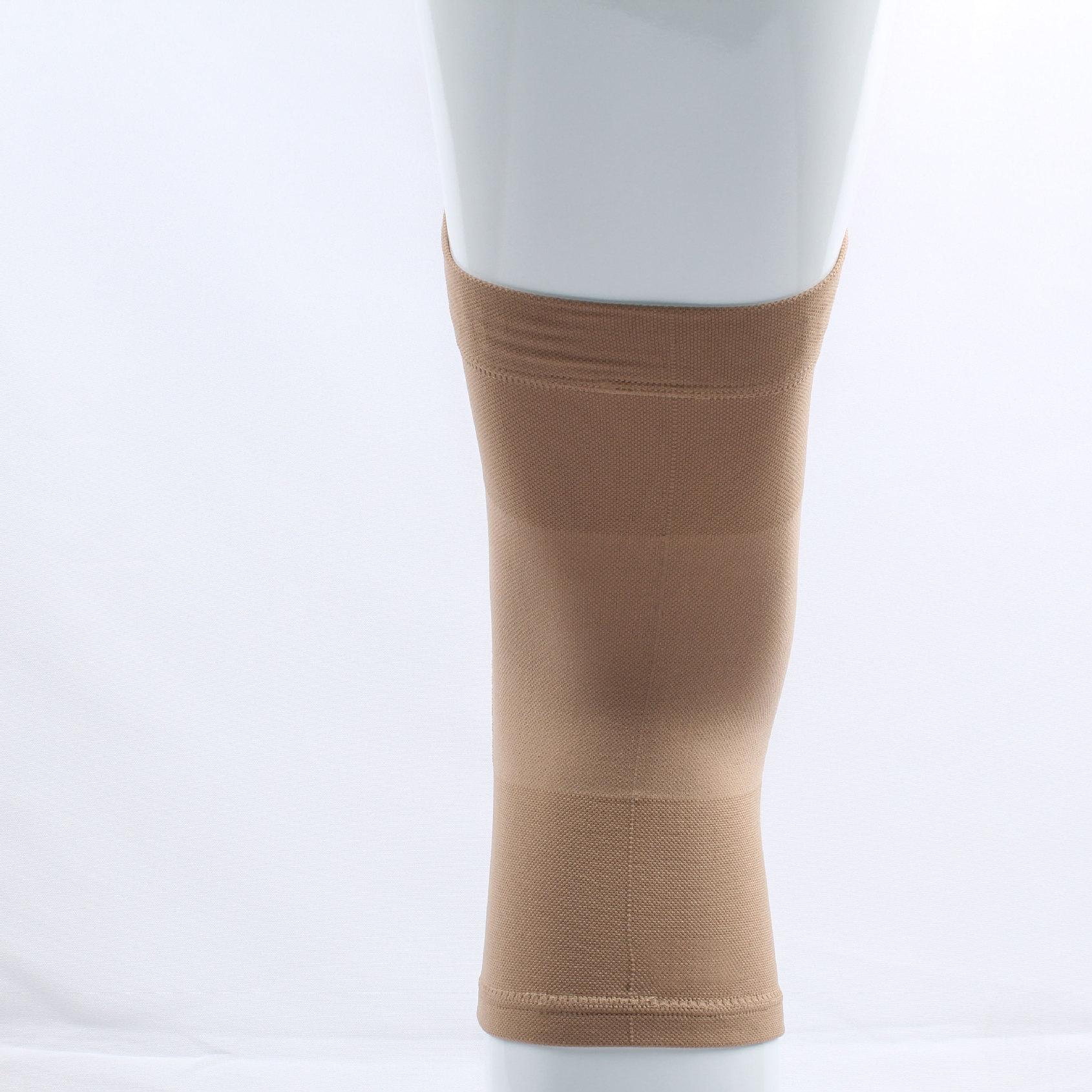 加硅胶压力护膝  空调房保暖保健护膝  运动压力护膝护具工厂OEM