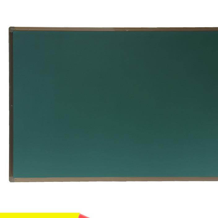 教学黑板 磁性黑板挂式推拉黑板家用办公 单面绿白板镀锌厂家定制