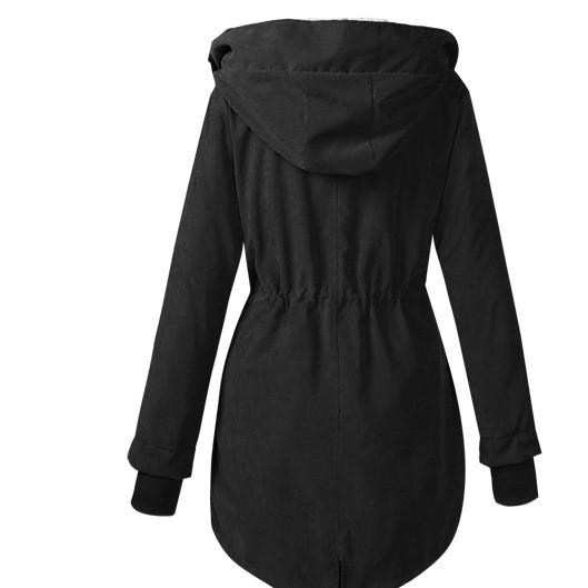 欧洲站2019春装新款女士外套棉衣女中长款棉服外贸爆款现货供应