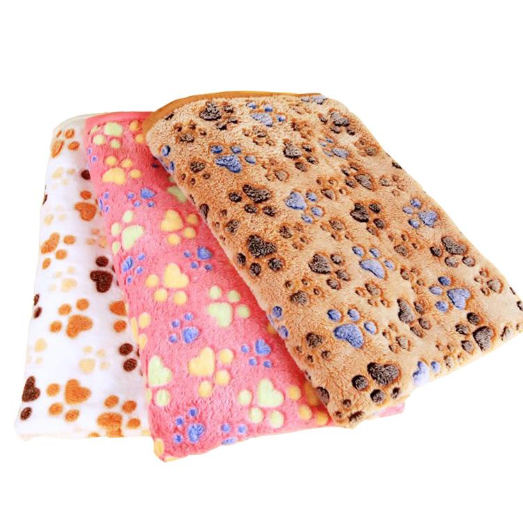 宠物狗狗毛毯 加柔保暖珊瑚绒狗窝垫子 猫狗毯子用品