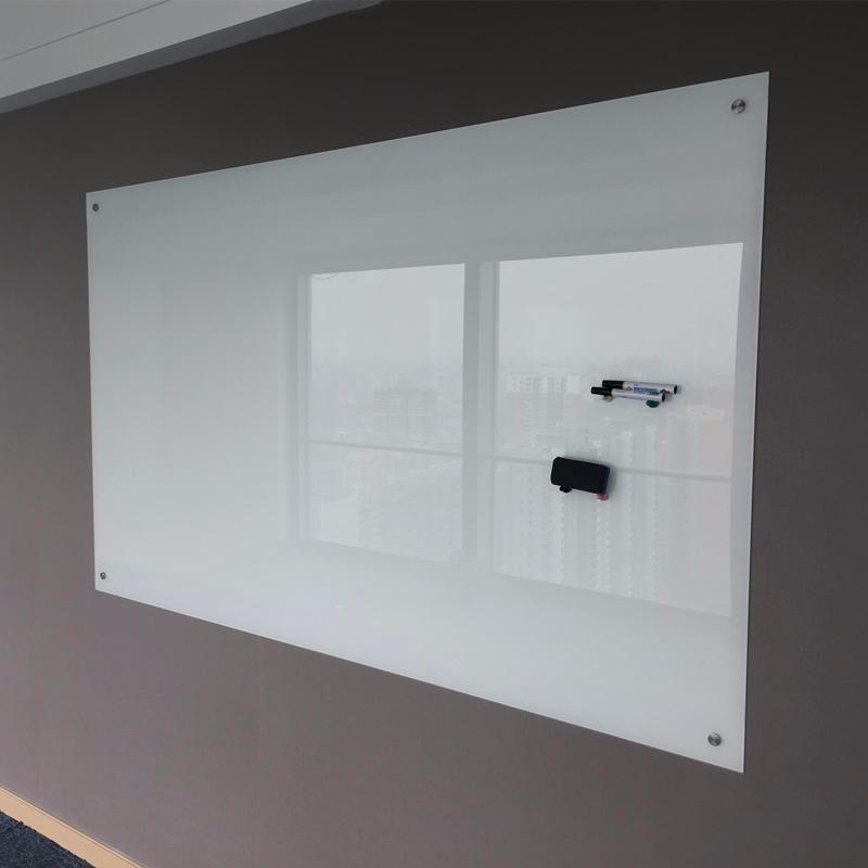 北京上门安装磁性钢化玻璃白板 黑板 绿板