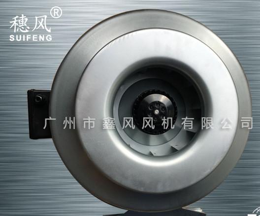 厂家直销 TSK圆形不锈钢管道风机 圆筒管道输送风机 投影设备配套