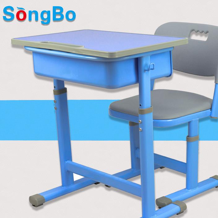 豪华ABS材质人体工学设计稳固耐用 小学生课桌椅