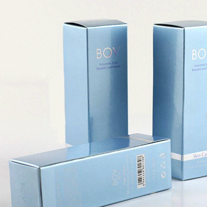 专业订制包装彩盒 高档精华液面霜护肤品面膜纸盒 化妆品套盒