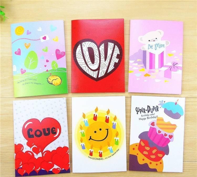 韩国新款创意12录音贺卡祝福卡会说话的儿童生日卡情人节卡片批发