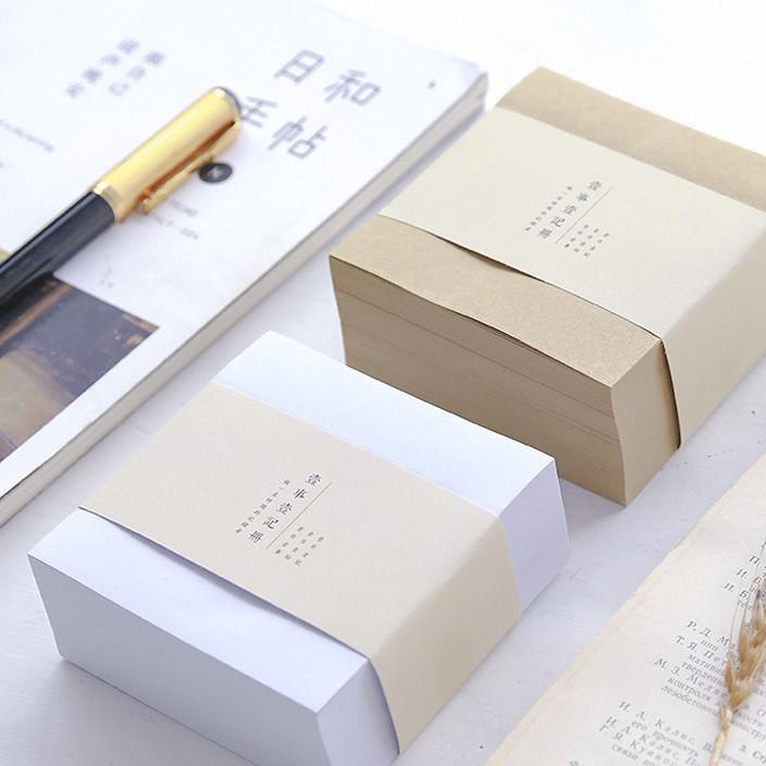 创意方砖便签本便利贴小便签本子方形留言记事N次贴可撕
