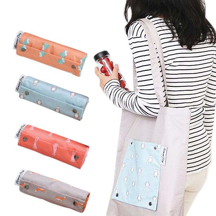 卡通防水衣物收纳包整理袋旅行折叠购物单肩包收纳袋 手提收纳袋