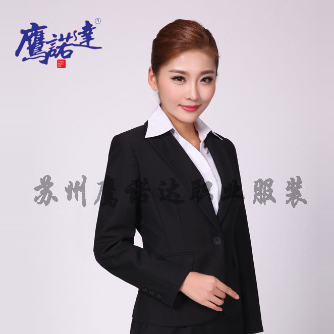定制女士西服裙套装直销办公行政制服酒店房产商务销售西装WX002