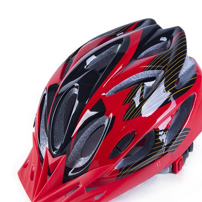 热卖新款山地/公路车骑行头盔 一体成型自行车头盔 可贴牌捷安特