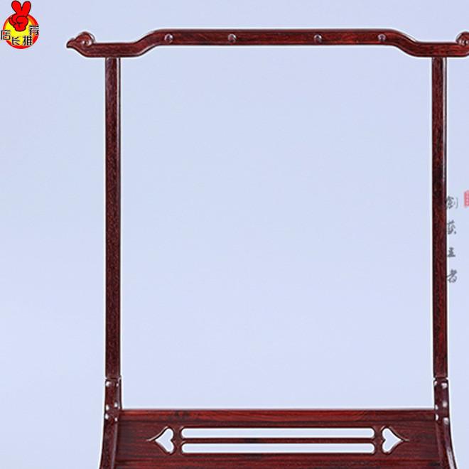 印度小叶紫檀笔架红酸枝笔架毛笔挂红木雕家具摆件工艺品文房四宝