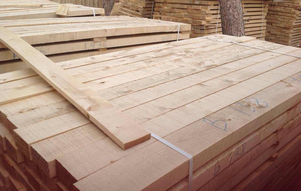 大量供应俄罗斯桦木板材 桦木刨光材 国外直销桦木板材
