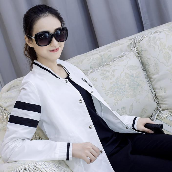 9901实拍秋装新款女小香风女士夹克衫休闲长袖开衫短外套棒球衫