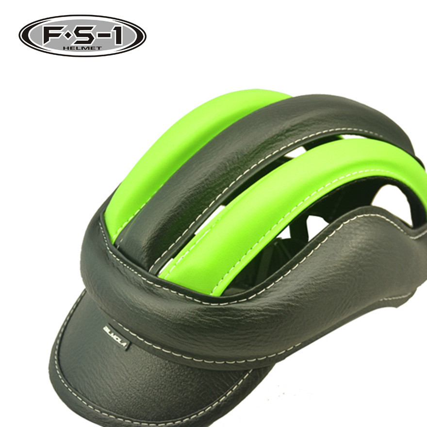 供应 轻便型运动头盔 MD-02 骑行头盔 马术皮革PU头盔 厂家直销