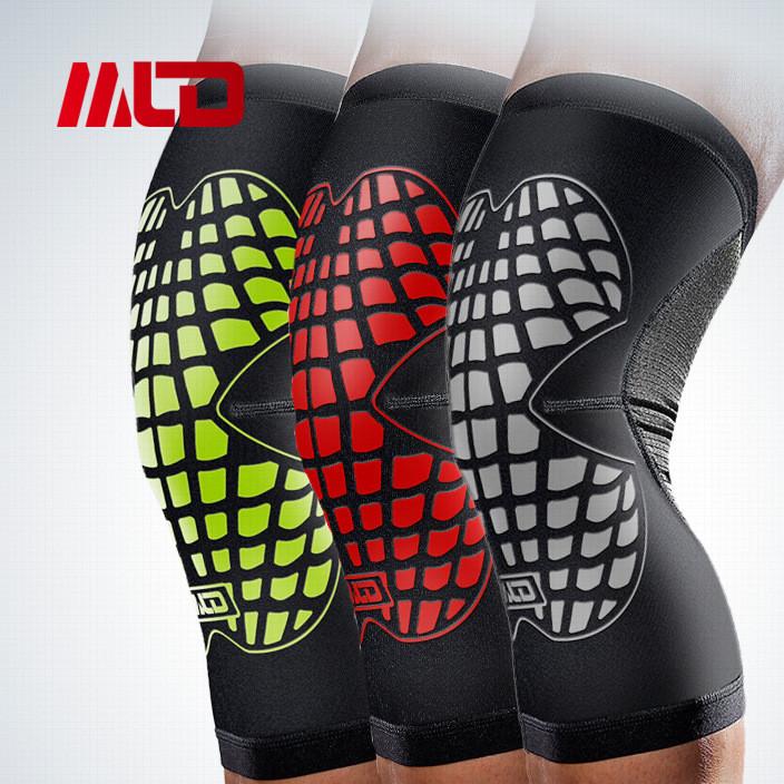户外运动篮球跑步护膝高端运动骑行护膝超薄运动男女保暖护具