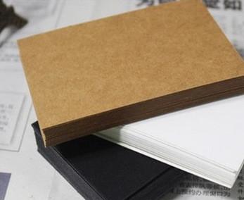 DIY空白明信片定做明星来图卡片定制单词卡双面空白卡纸现货 定做