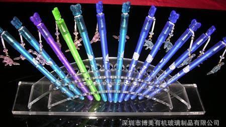 亚克力展示架 电子烟展示架 精美笔架 透明笔架 亚克力支架