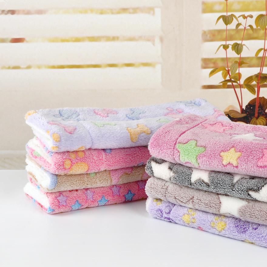 宠物毛毯 加厚珊瑚绒保暖狗窝垫 宠物窝垫 猫狗通用柔软毯子批发