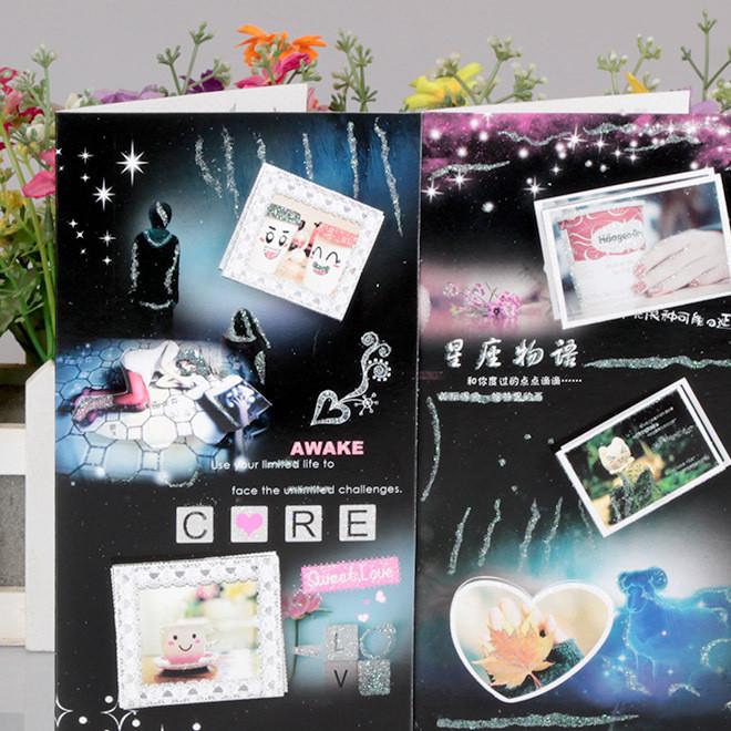 祝福卡HK-F14动漫卡通系列立体贺卡、留言卡生日祝福卡