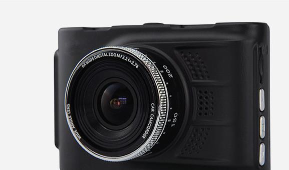 行车记录仪1080P140°广角3寸屏 金属高清夜视 行车记录仪