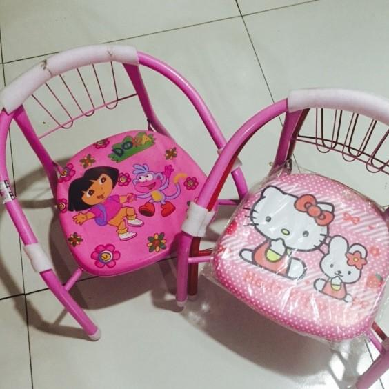 长期供应 粉色宝宝餐椅叫叫椅 小孩靠背椅 婴儿小凳儿童椅